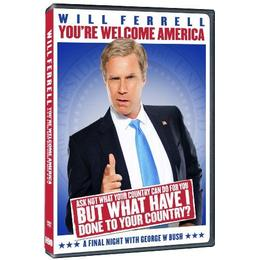 Will Ferrell - You're Welcome America - A Final Night With George W. Bush (HBO) [DVD]